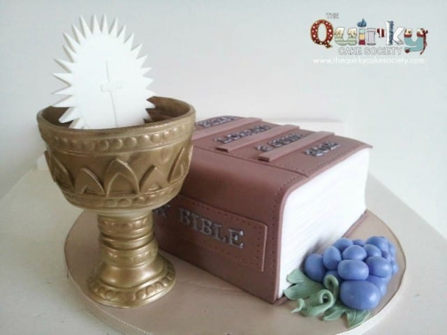 Confirmation Bible Cake