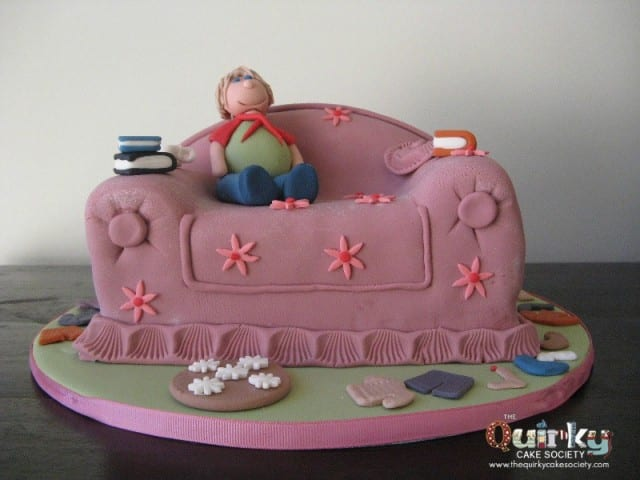 Mother Day Couch Cake