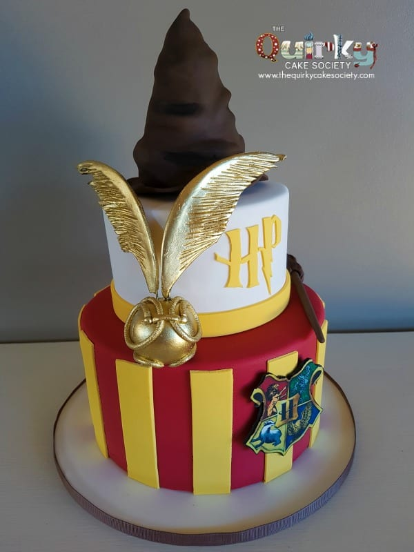 Harry Potter Snitch Cake The Quirky Cake Society