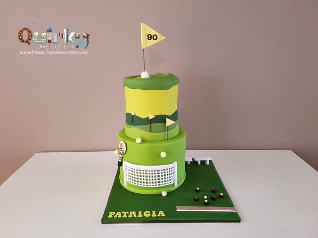 Golf Tennis and Lawn Bowls Cake
