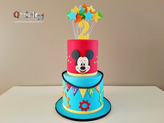 Mickey Mouse Club Cake