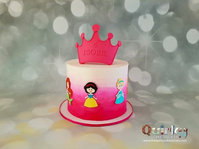Disney Princess Buttercream Cake