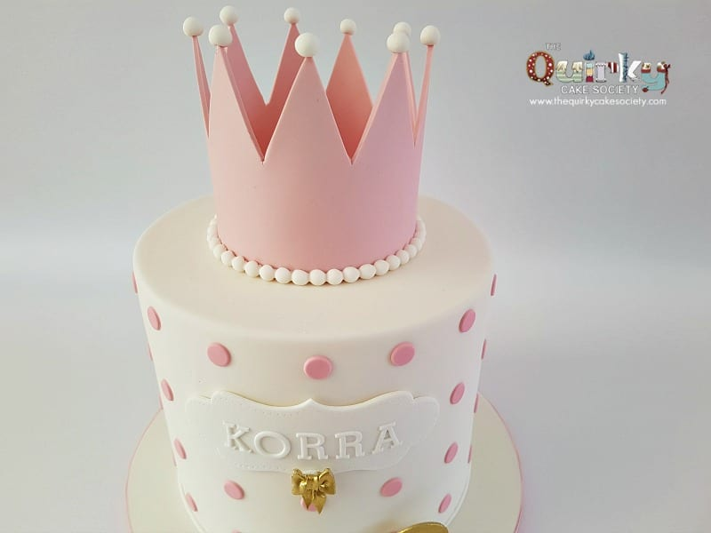 Amazing Princess Crown Cake The Quirky Cake Society Funny Birthday Cards Online Alyptdamsfinfo