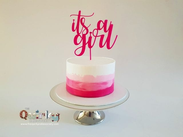 Its a Girl Cake
