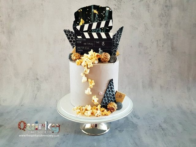 Movie Producer Buttercream Cake