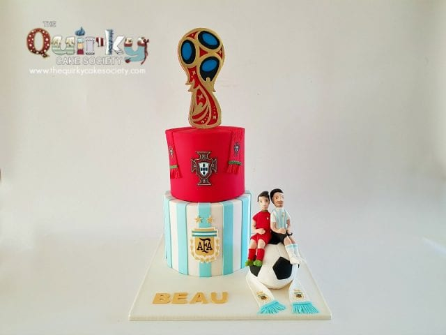 World Cup Soccer cake