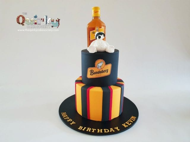 Bundy Rum Bear cake
