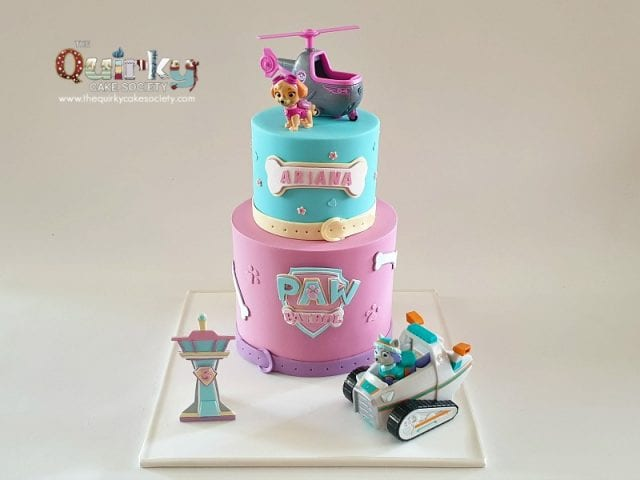 Paw Patrol Girl Power cake