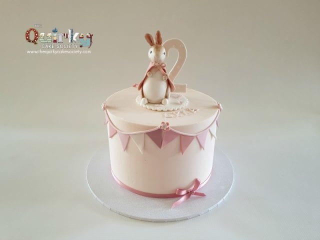 Peter Rabbit buttercream cake