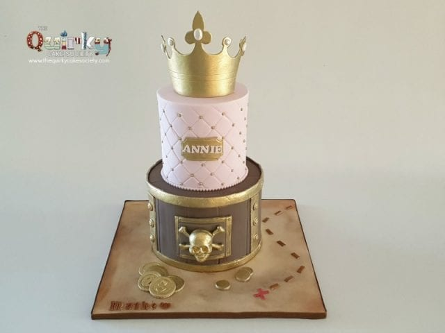 Princess and Pirates Cake