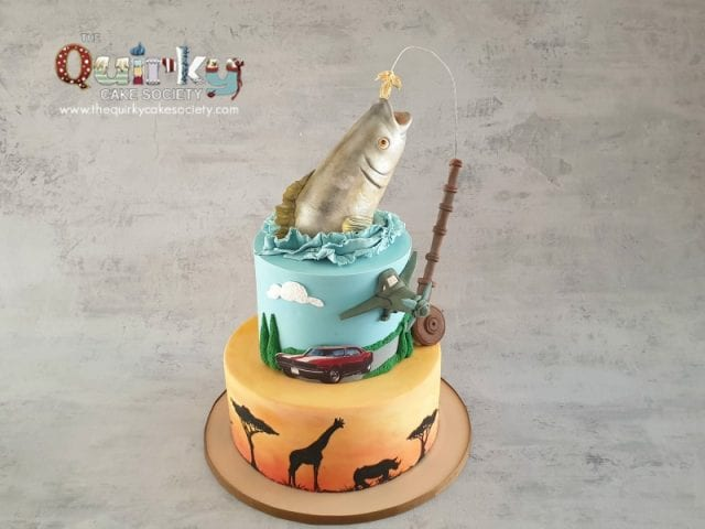 Fishing, Africa, Car cake