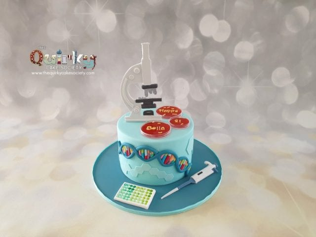 Microbiologist Cake
